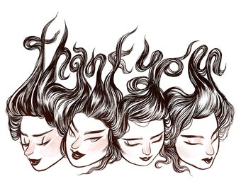 Thank You Cards / Ladies
