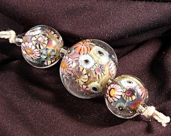 Lampwork  Art Beads by Jeanniesbeads #351