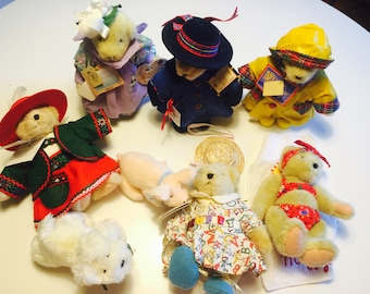 Collection of 6 Muffy VanderBears