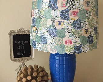 Blue Crush lamp