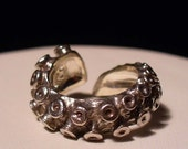 VDay SALE SALE - Tentacle ring size 4 - 9