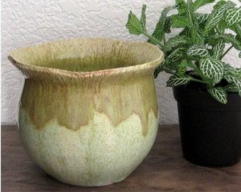 Seed Pod Series - Stoneware Planter - Flower Pot - Succulent Planter - Ready to Ship