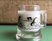 Vintage Chicago Shot Glass-The Windy City-Mini Mug-Vintage Barware -Libations -Booze
