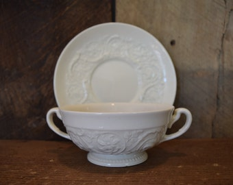 jewelry tray edgewood Patrician antique vintage cup and saucer