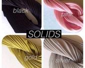 Silk Shibori Ribbon by the Yard