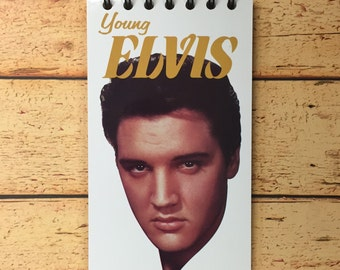 "Elvis Presley ""Young Elvis"" vhs notebook"