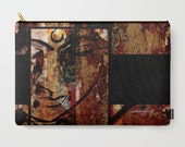 """Buddha Art, Pouch, Zen Purse, Bag, Abstract Painting art """"In Peace 2"""" by Kathy Morton Stanion  EBSQ"""