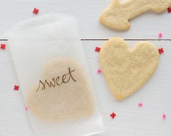 sweet glassine treat bags
