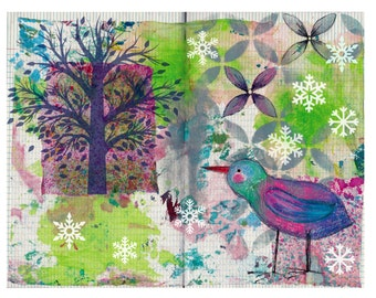 Fabric Sketchbook Page 10