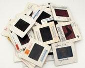 50 Art History Slides - Assorted Educational 35mm Slides - Cardboard Frames - Vintage Photo Slides