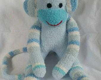Rafe the sock monkey ready to ship
