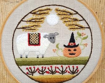 A Sheepish Halloween Pattern and Kit