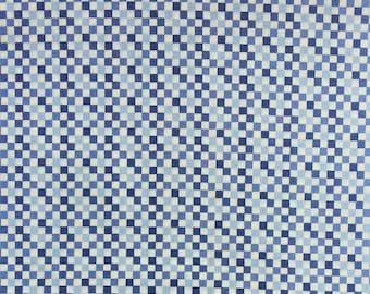 Blue Check Fat Quarters - Jody's Design