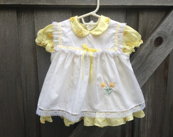 Two-Piece Baby Dress 9/12 Months