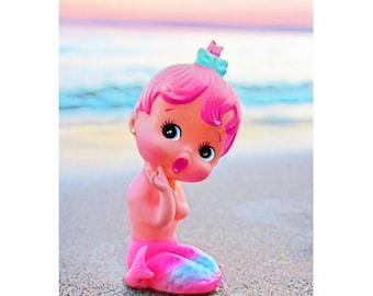 mermaid doll print 5 x 7 SWEET LIL WAVE