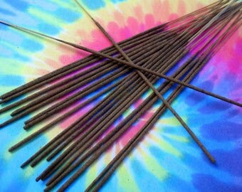 Incense Sticks (100) MADE TO ORDER - Choose from over 500 scents (earthy, bakery, fruity, floral, spring, summer, clean, laundry, etc)