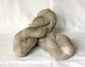 SAND, 8 ply twist hand dyed sock yarn