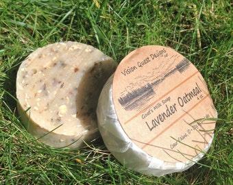Lavender Oatmeal Goat's Milk Soap