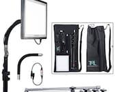The Makeup Light Starter Key Kit Black or White LED Portable Lighting No Mirror or Vanity