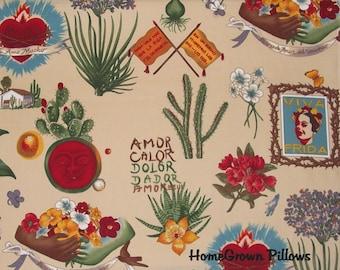 Alexander Henry Fabric, Viva Frida, Frida Kahlo Fabric - FAT QUARTER