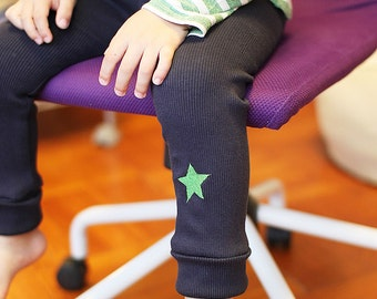 KIDS SPATS -Leggings - PDF e pattern - 3 sizes between 1y and 6y