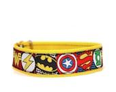 "3/4""  Sheldon Cooper martingale or buckle dog collar"