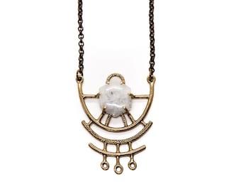 Dreamweaver Necklace // Moonstone