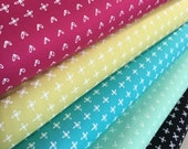 Blueberry Park fabric bundle by Karen Lewis Textiles for Robert Kaufman, Kona Cotton, Bundle of 5, Choose the Cuts, Free Shipping Available