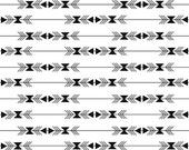 Tribal fabric, Aztec fabric, Boho fabric, Arrow fabric, Four Corners fabric by Riley Blake, Arrow Stripe in White, Choose The Cut,