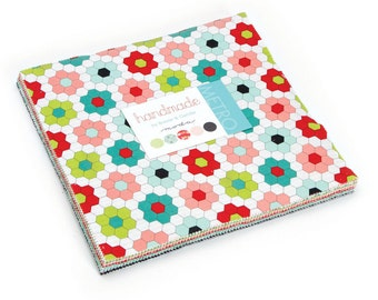 30% off Precuts SALE fabric, Handmade Layer Cake, Bonnie and Camille for Moda, Precut 10 inch squares of Entire Line, Quilting squares