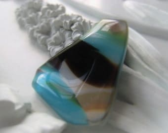 Glass Cabochon Ocean Glass Item No.
