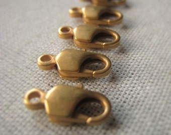 Gold Lobster Clasp Matte Gold Claw Closure Item No. 8387 4295