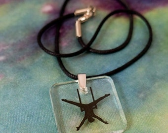 Aerial Arts Necklace - Trapeze!  #2