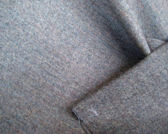 Wool/Wool Blend Remant Fabric Yardage---Unfinished Project--