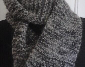 Knit Cowl- Grey