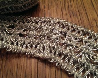 Fancy Silver Craft Trim