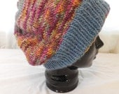 Wool Adult Hand-knit Hat