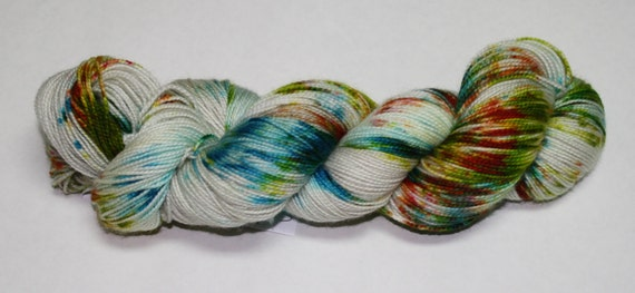 The Jedi Were Real Hand Dyed Sock Yarn