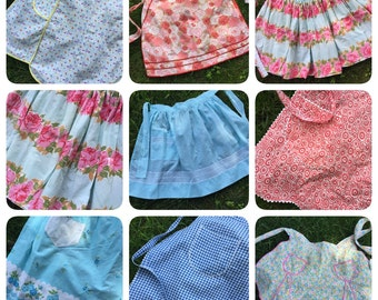 Put Your Apron On - Lot of 8 Vintage Beauties!