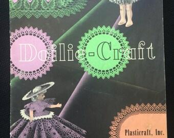 Vintage Doilie-Craft Crochet Instruction Booklet