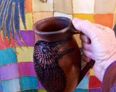 Jumbo Raven Mica Mug from New Mexico 24 oz