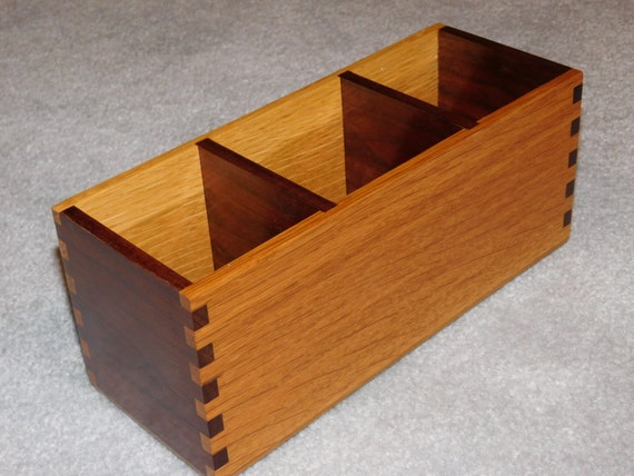 Oak Desk Organizer ~ Desk organizer office caddy oak walnut
