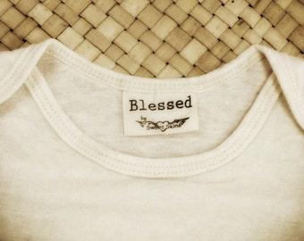 Blessed Baby Tee || Hemp & Organic Cotton
