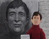 Author Doll John Updike Creative Writer Miniature Art