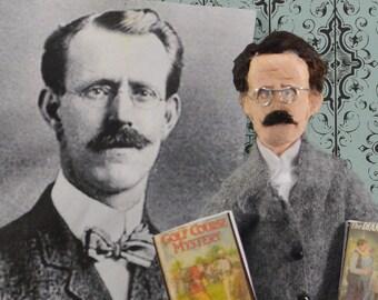 Edward Stratemeyer Doll Miniature Mystery Writer Geek Art