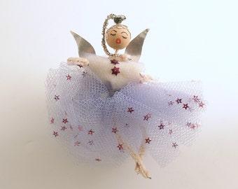 Vintage Christmas Angel Ornament Angel Ballerina Ornament Christmas Decoration