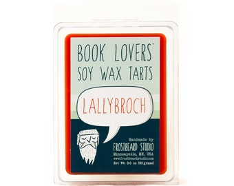 Lallybroch - Book Candle Tart -  Book Lover Gift - Scented Soy Candle Melt - Frostbeard Studio - 3oz Pack
