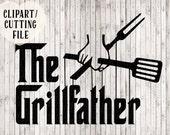 svg, svg files, the grillfather svg, bbq svg, grill svg, dad svg, father svg, chef svg, funny svg, vinyl designs, tshirt svg, vector files