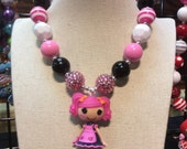 Lalaloopsy Berry Jars N Jam doll Chunky Bead girls Necklace Holiday Sale