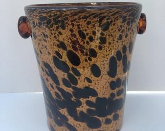 Blown Glass Wine Bucket